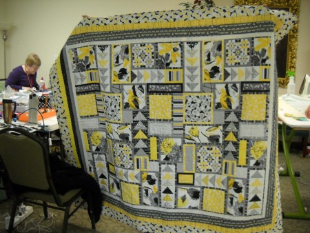 Phyllis Jaffe quilted by Sheri Thompson